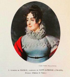 Anne Angélique de Mackau, Dame du Palais de l'Impératrice Joséphine (1790 – 1870)