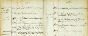 Erard 1804/5 No. 6115 Eintragung (2) - Eric Feller Collection