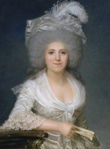 Jeanne Louise Henriette Campan (1752 - 1822) - Gemälde von Joseph Bozes von 1786 - Gemäldesammlung Schloss Versailles