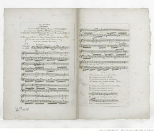 Le Baiser Romance by Félix Blangini (1781-1841) - Published 1811 by Jean-Jérôme Imbault