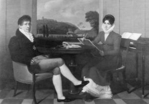 Marie Catherine Céleste Érard (1790 - 1878) und Gaspare Spontini (1774 – 1851)