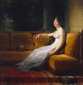 Portrait von Josephine de Beauharnais-Bonaparte in Schloss Malmaison (1801) von François Gérard (1770 - 1837)