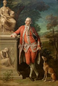 Sir Peter Beckford (1740 – 1811)- Painting by Pompeo Batoni, 1766