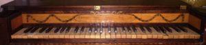 Tafelklavier Christopher Ganer, London 1780 - Eric Feller Collection (Tastatur)
